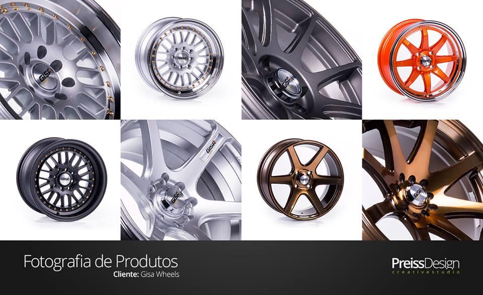 Fotografia de produto para Gisa Wheels - Still