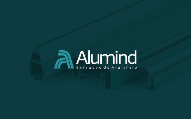 Criação de logo para Alumind