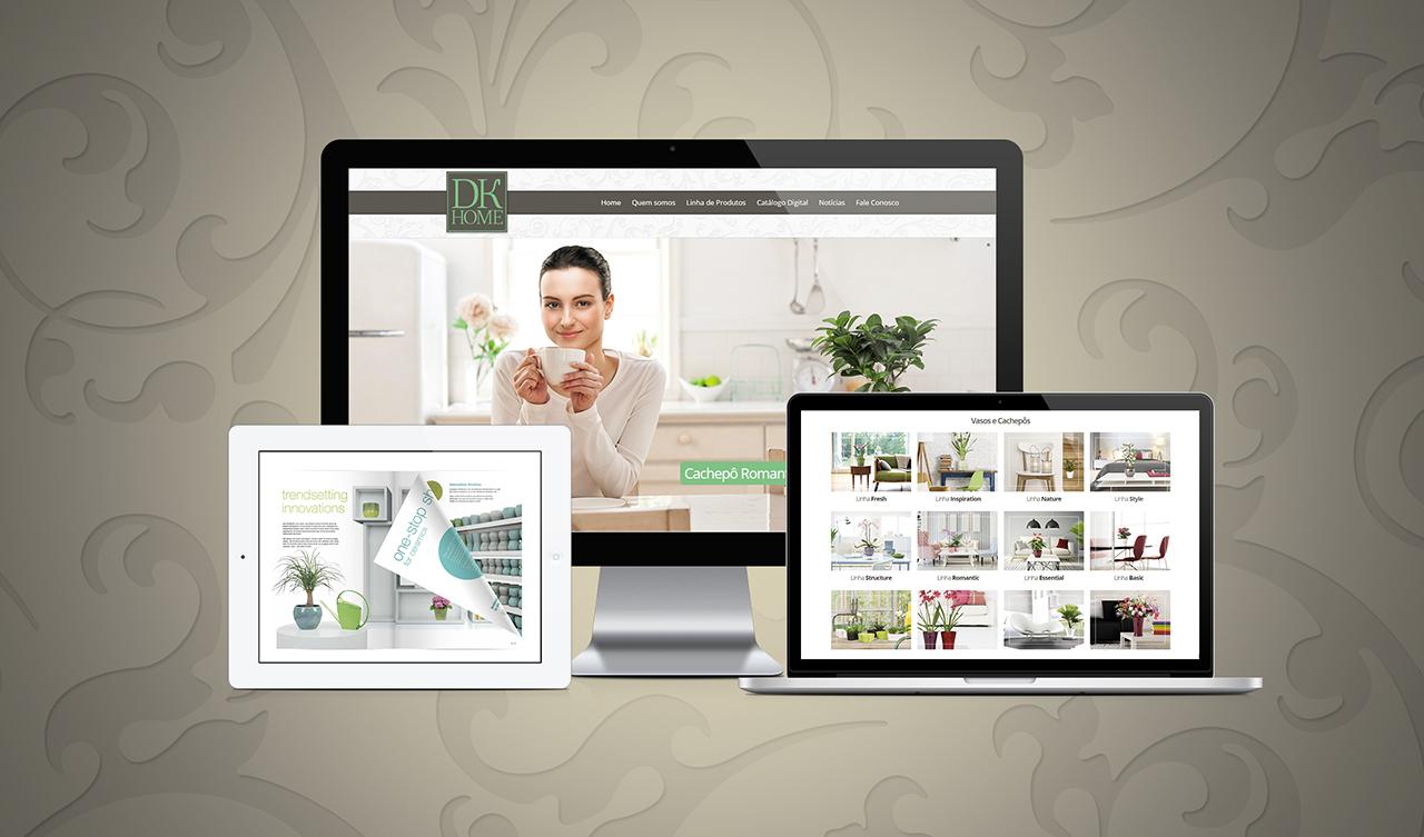 Criação de site DK Home