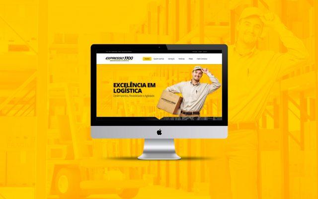 Criação de site responsivo Expresso3300