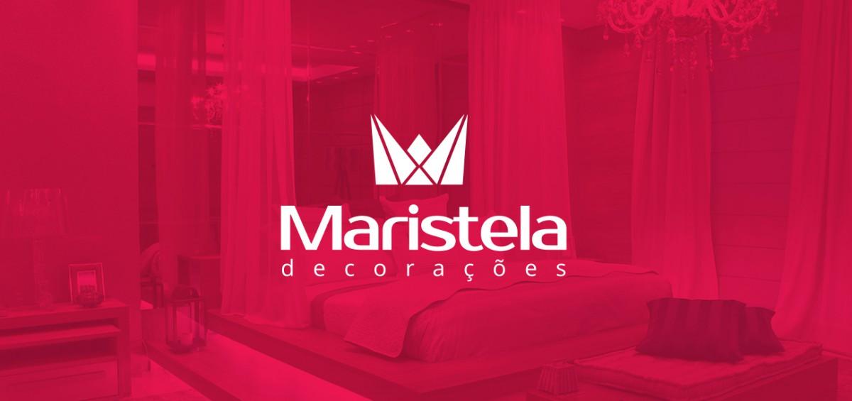 Criação de logo Maristela decorações