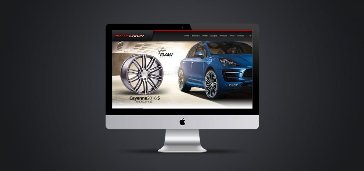 Criação de site responsivo para Motorcrazy