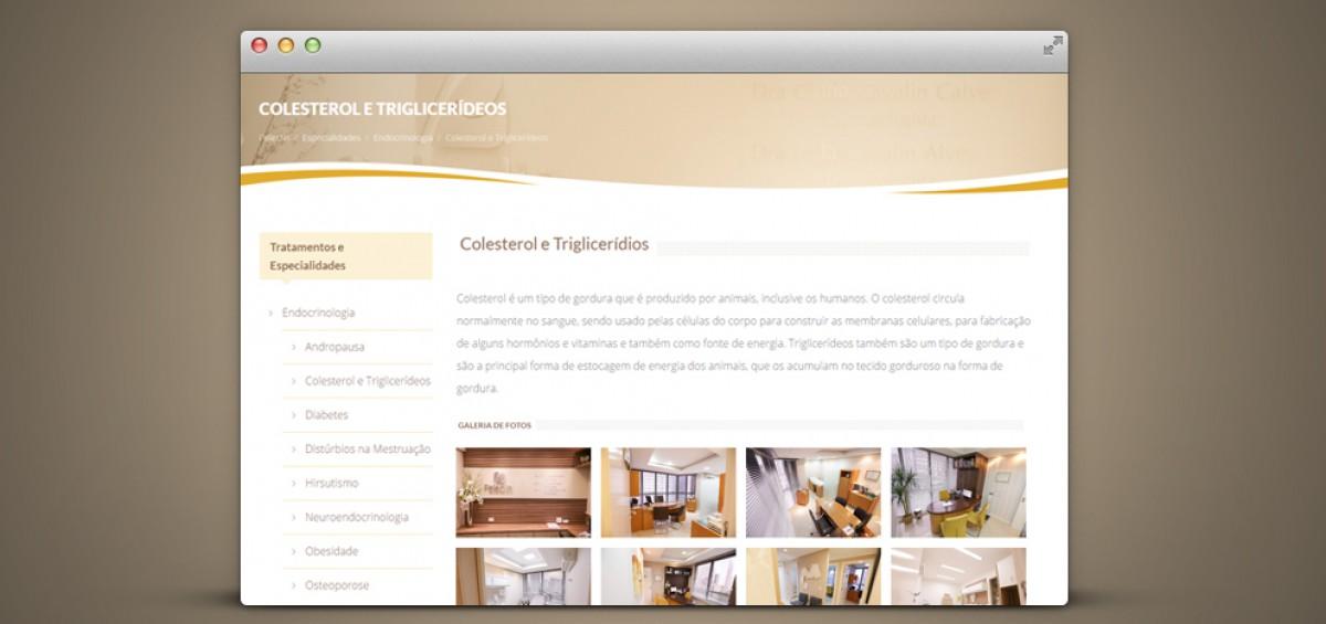 Criação de site responsivo para Clínica Peleclin