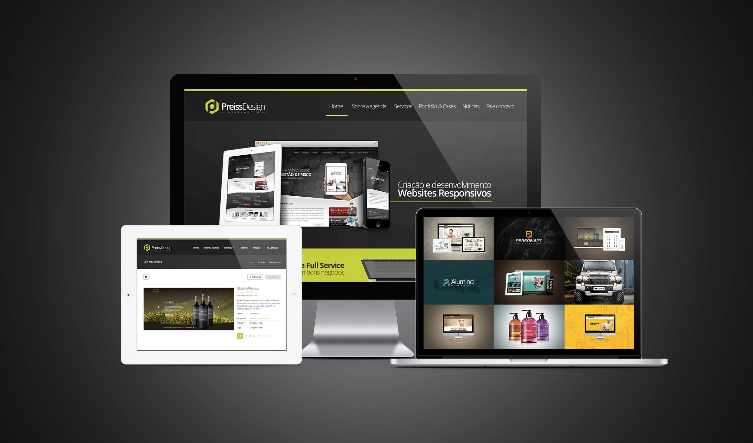 Criação De Sites E Design Gráfico Em Curitiba   Preiss Design